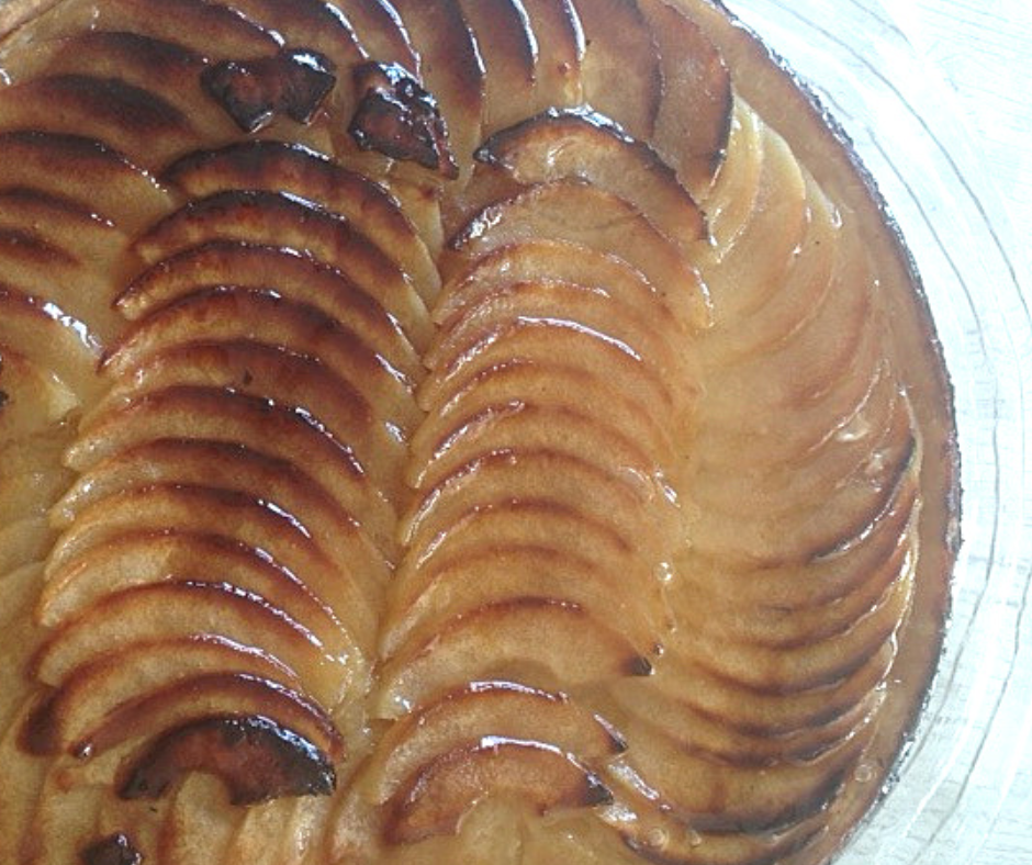 How to cook an easy French Apple Tart