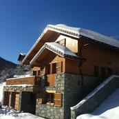 The exterior of Chalet L'Erine