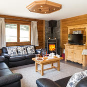 Chalet Foehn ideal for a group of friends, couples or several families sleeps 12-14.