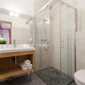 Chalet Charmille's smart ensuite shower rooms
