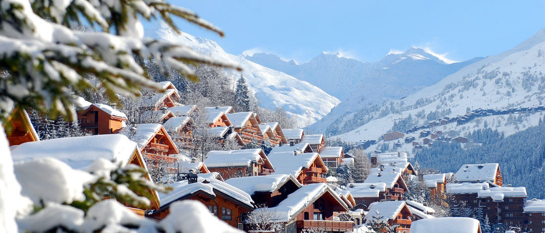 Affordable chalets in one of the worlds top ski resorts