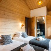 Chalet L'Erine's bedrooms all comfortably furnished all ensuite