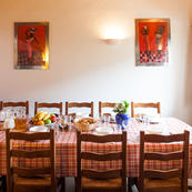 Don't forget our prices include full catering in La Vieille Scierie.