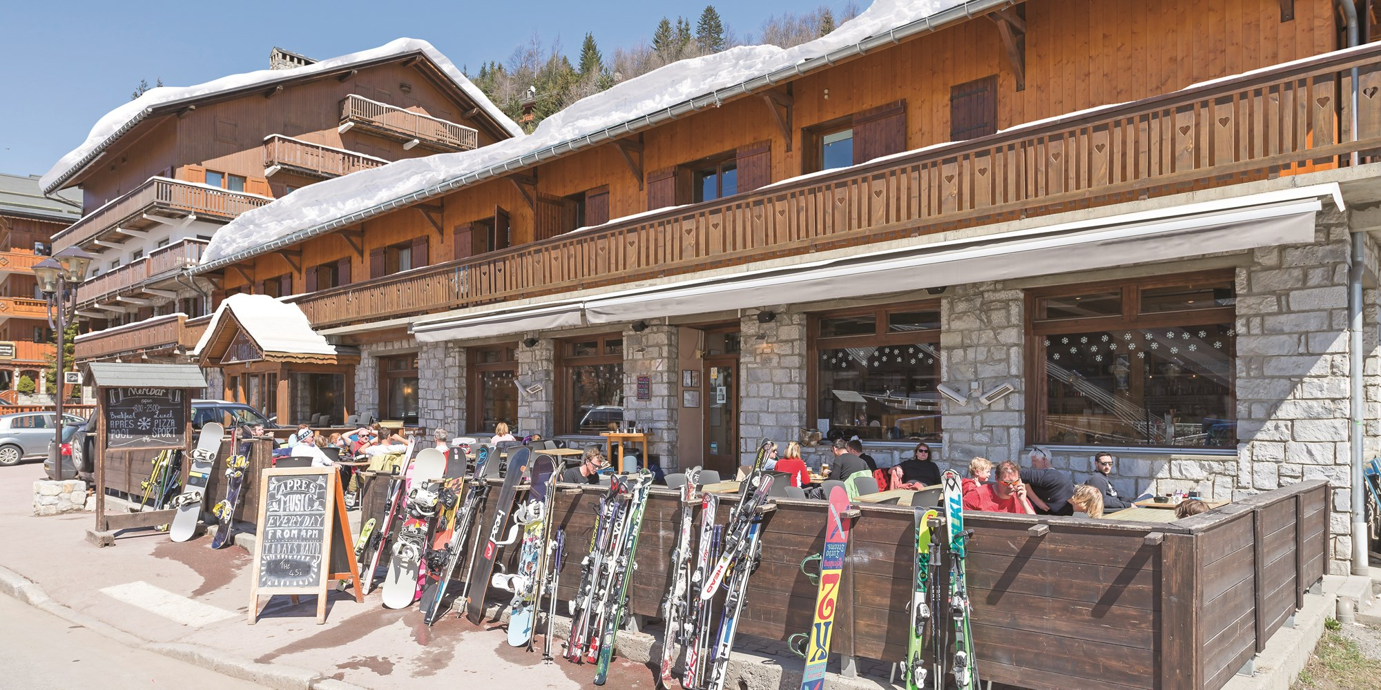 Chalet Le Lapin Blanc Meribel restaurants | meribel, meribel, three valleys | ski blancc